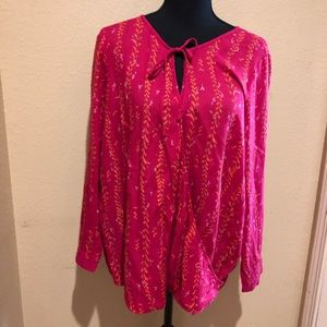 Lucky Brand Long Sleeve Tunic